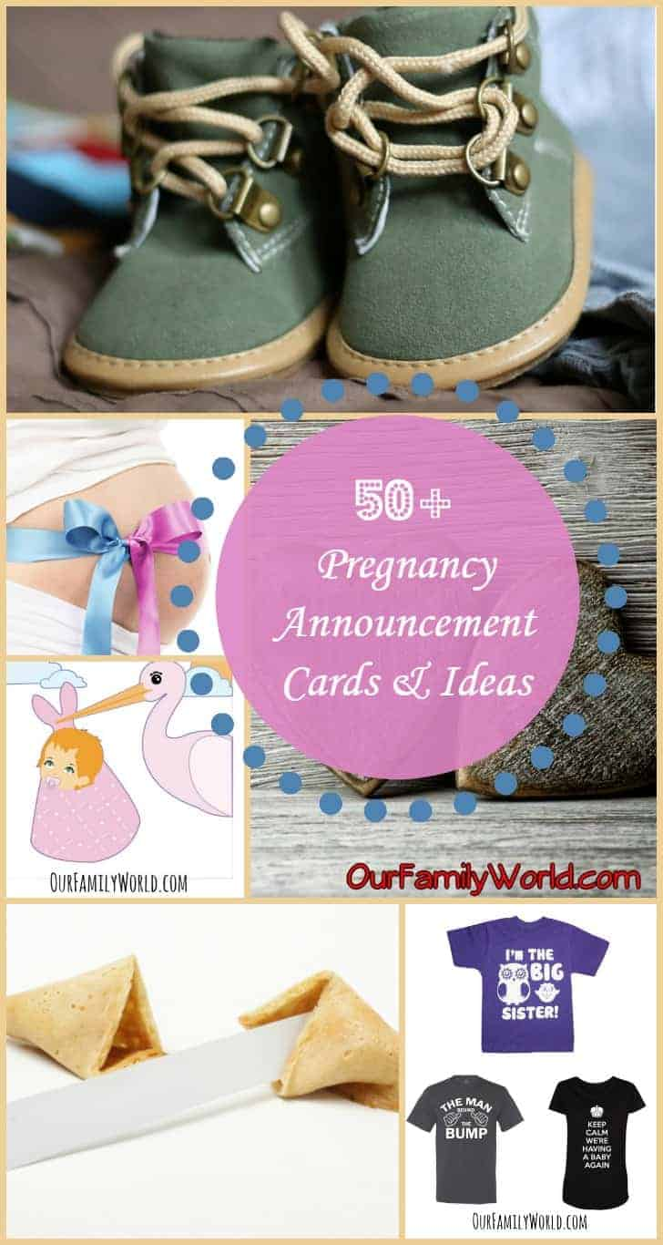 Got some great news that you can't wait to share? Check out our 50+ different pregnancy announcement cards and ideas and get ready to tell the world!