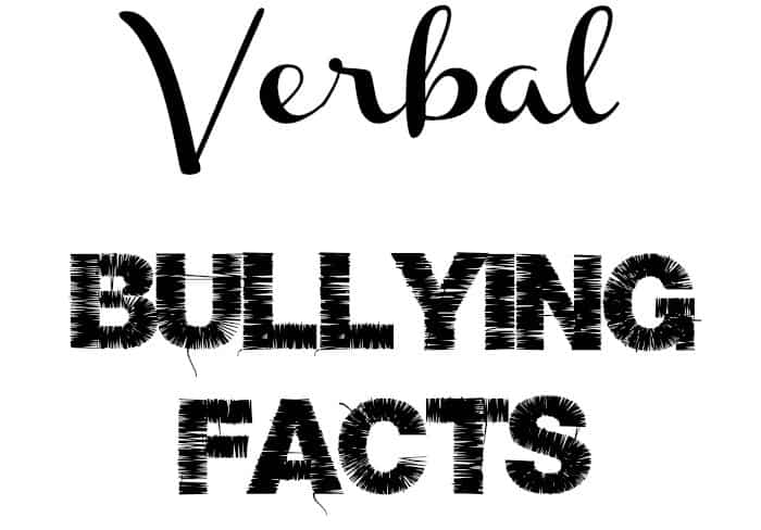 Important Verbal Bullying Facts to Know- OurFamilyWorld