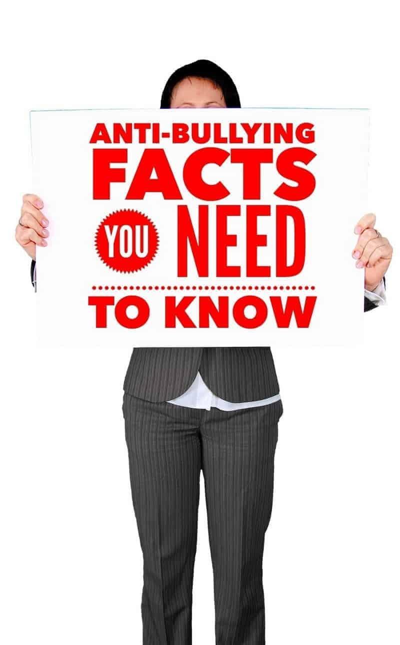 Use these anti-bullying facts to help you shed light on the problem of bullying in communities and drive others to stand up and fight this ongoing epidemic.