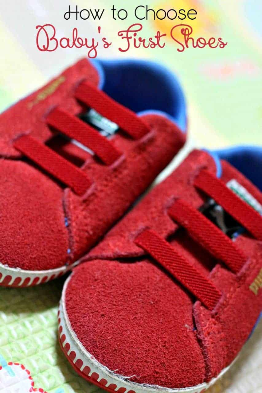 How To Choose The Style Of The: Tips For How To Choose Baby Shoes