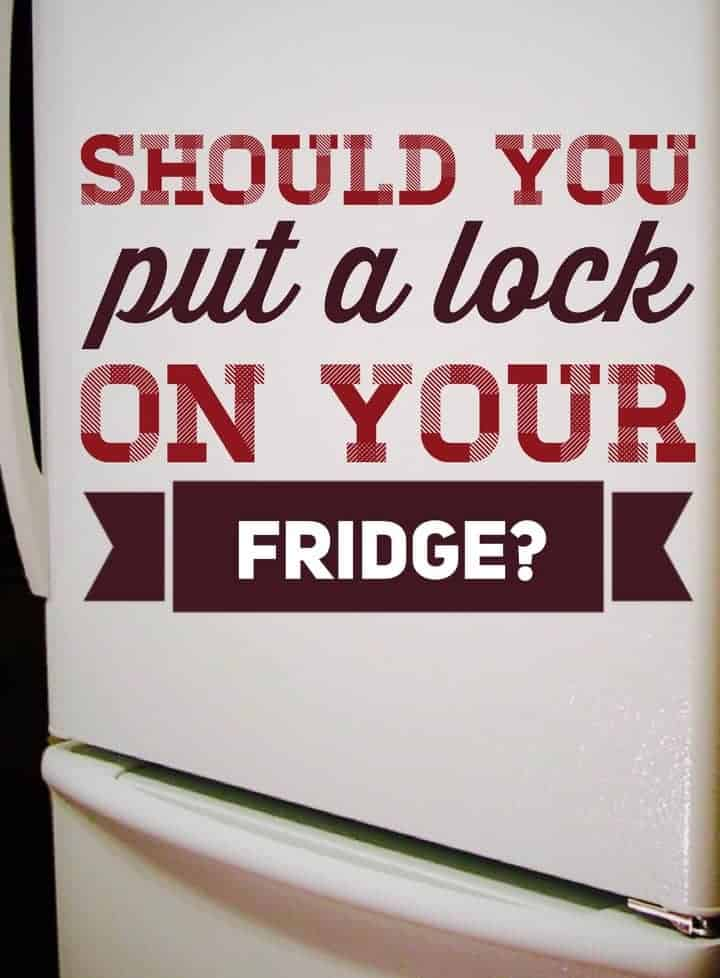 We look at the pros and cons to help you decide if you should put a lock on your fridge to help keep kids out when they're babies and toddlers.