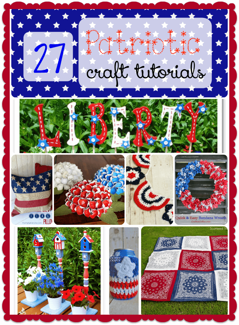 Want to show off your love of country? Check out these 27 fun patriotic crafts for all skill levels! Includes many that can be adapted for Canada Day!