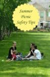 Don't let bug bites, bumps and bruises ruin your fun at the park! Check out our summer picnic safety tips to make sure everyone has a fun time!
