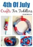 Get the little ones into the patriotic spirit and keep them busy until the fireworks display with these fun and easy 4th of July crafts for toddlers!