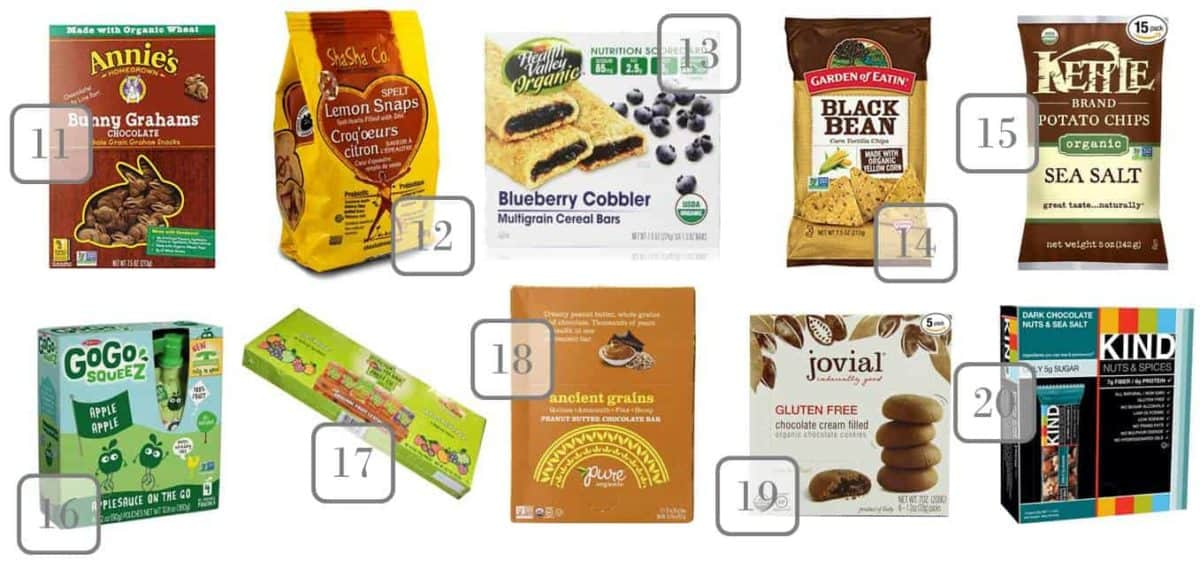 Stock your pantry with these delicious perfect organic back to school snacks for kids & start the school year off right! Check out how to save at Amazon.