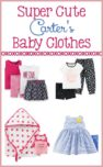 Looking for the cutest baby clothes at affordable prices? Check out the amazing Carter's Child of Mine selection available at your local Walmart!