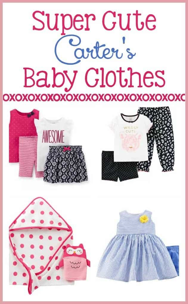 Stock Up on the Cutest Child of Mine Carter's Baby Clothes ...