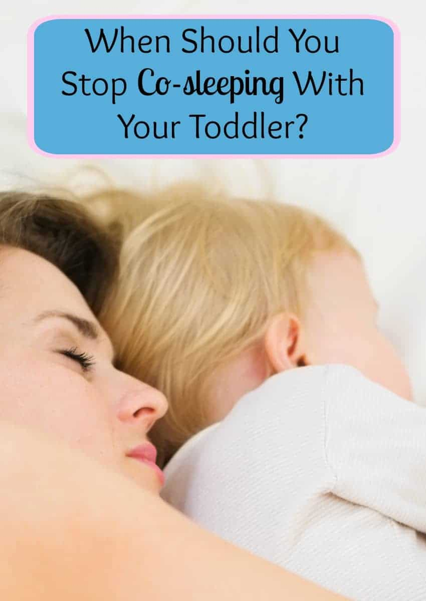 Wondering when you should stop co-sleeping with your toddler? While it's really up to you, check out our tips for deciding the right time to transition.