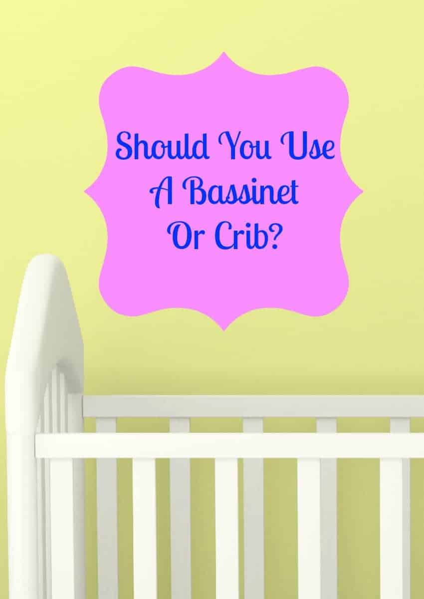 Having a hard time deciding between using a bassinet or crib? Check out the pros and cons of each, then decide which is best for your baby & lifestyle!