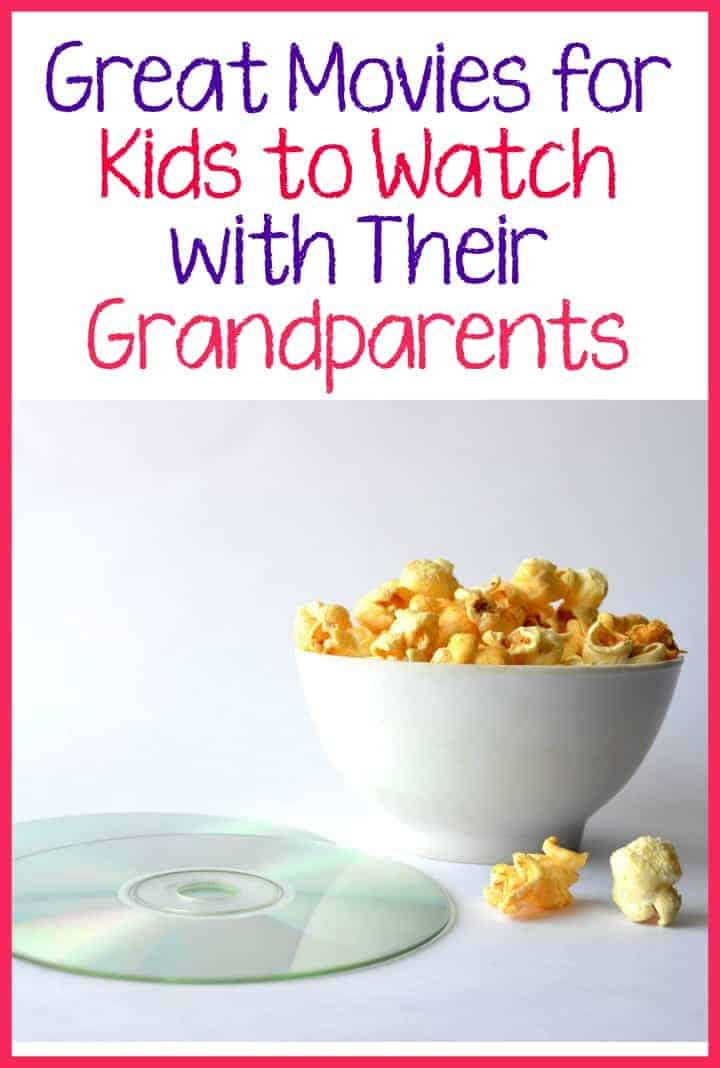 Looking for fun ways for your kids to bond with grandma and grandpa? Check out these great movies kids can watch this summer with their grandparents!