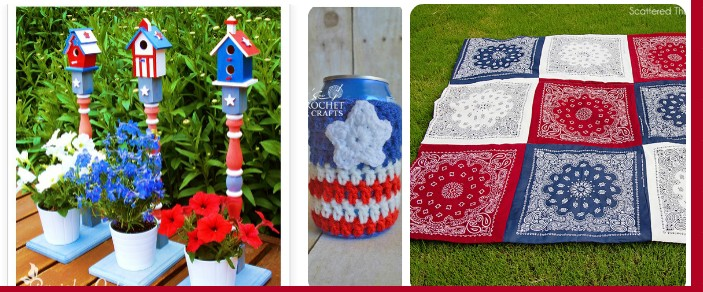 Fun Patriotic Crafts for 4th of July and Canada Day