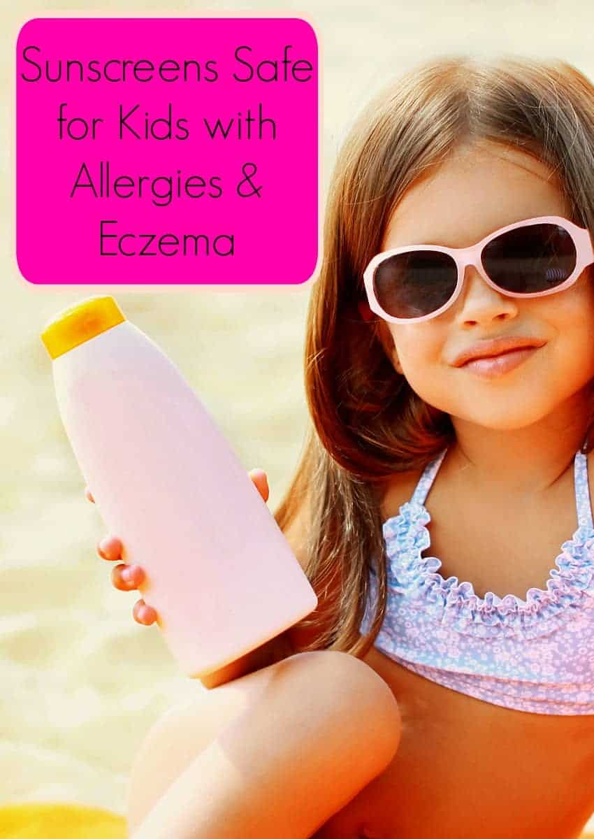Finding sunscreens safe for kids with allergies and eczema can be a challenge, but they do exist! We compared dozens of brands on the Skin Deep Database and came up with what we think are the best!