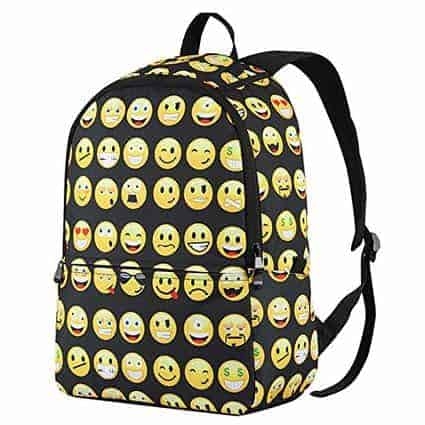 Must Have Back To School Accessories: Emoji Backpack
