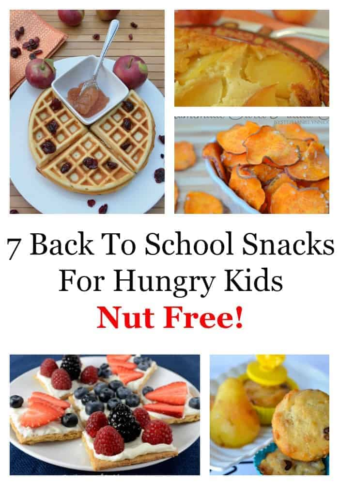 Kids come home from school hungry and tired. Check out our roundup of seven after school snacks that are both delicious and nut free to refuel your child.