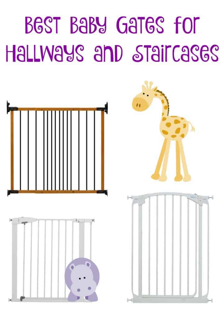 Picking the best baby gates for hallways and staircases is important to your little one's safety! Check out our top picks for affordable, durable options!