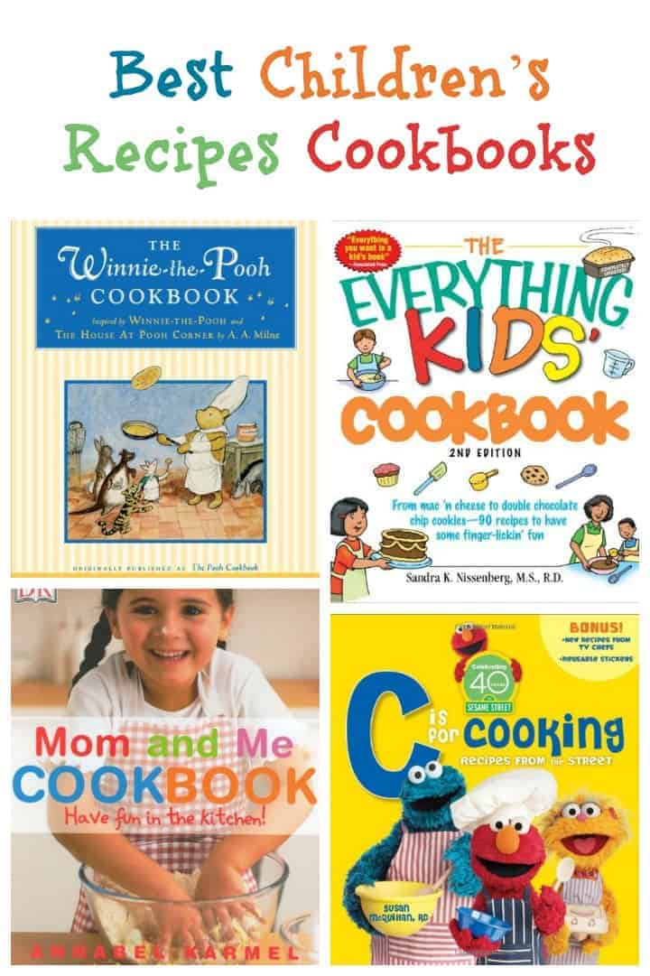 Teach your kids valuable skills while bonding in the kitchen with these fantastic children's recipes cookbooks, plus check out our favorite recipes to make!