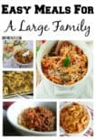 Looking for easy meals for a large family? Check out our favorite delicious large-batch recipes that you can whip up for your clan in a dash!