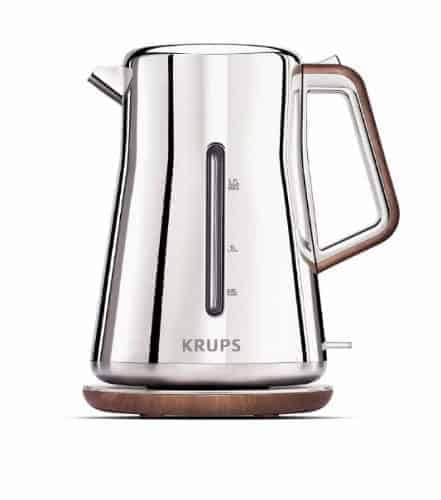 Krups Silver Art Collection Cordless Electric Kettle