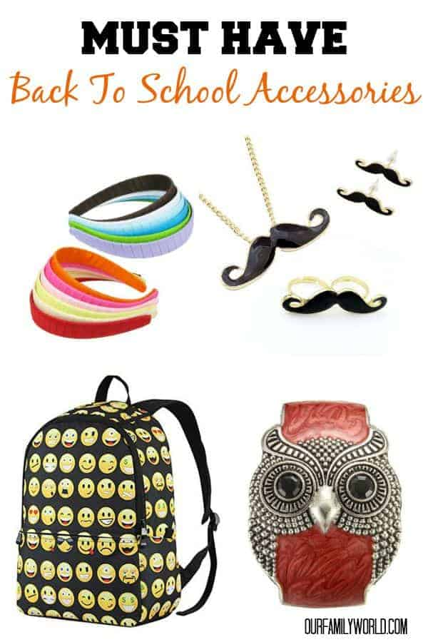 Let your kids show off their personality even with a strict dress code with these super cool must-have back to school accessories for all ages!