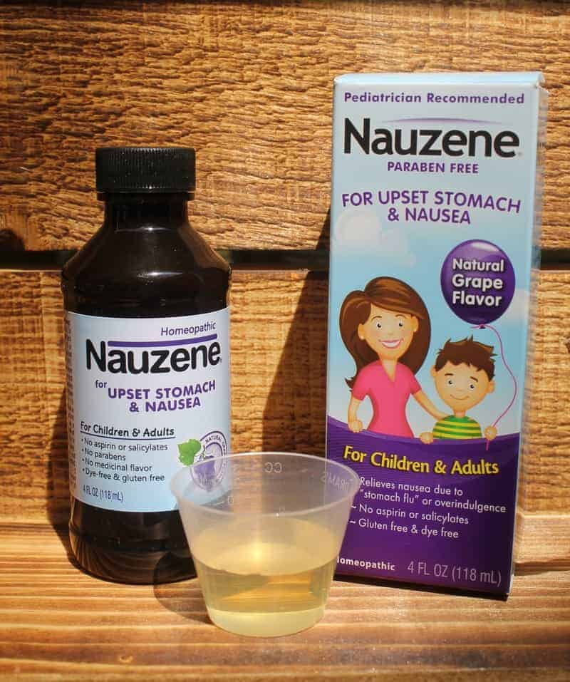 Get Fast Homeopathic Upset Tummy Relief with Nauzene
