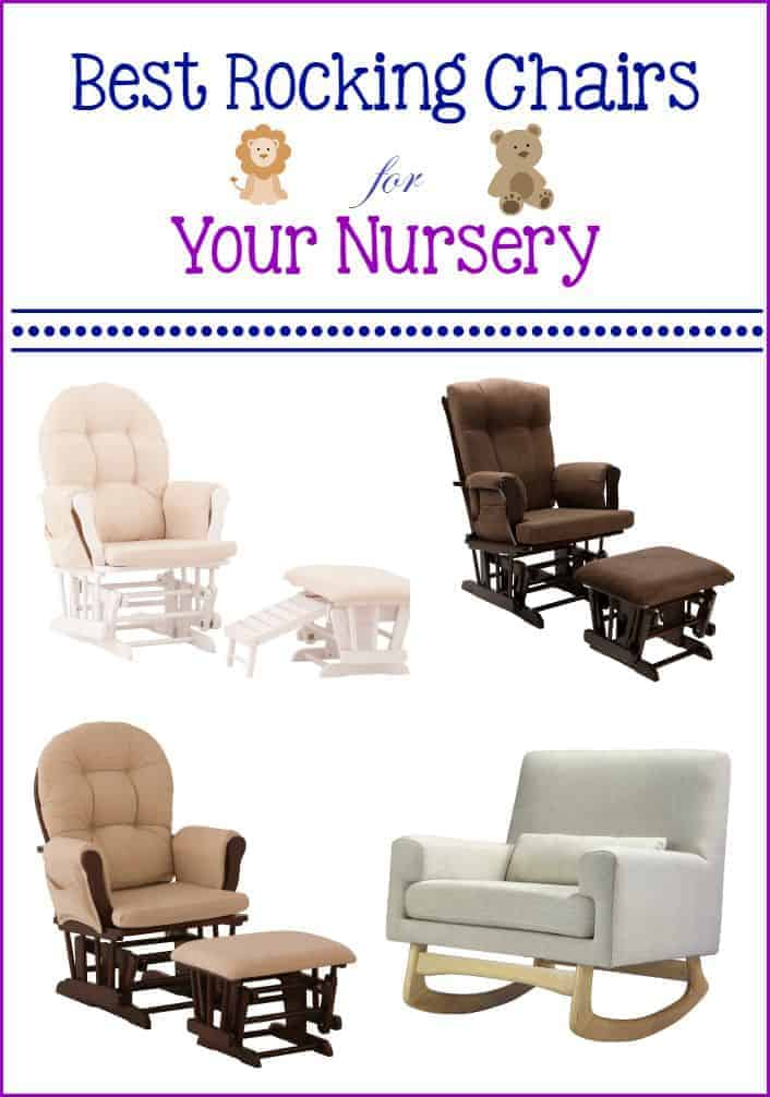 Check out our top picks for the best rocking chairs for your nursery that are both comfortable and stylish enough for your decor!