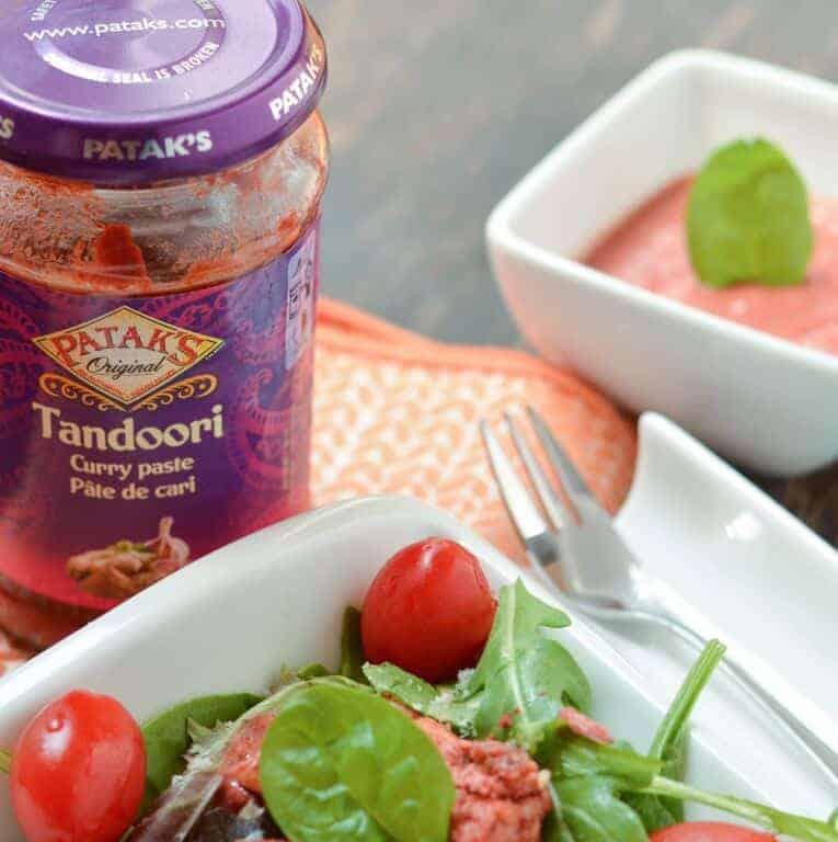 Tandoori chicken salad recipe ingredients