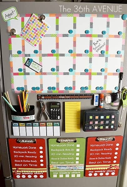 back to school station