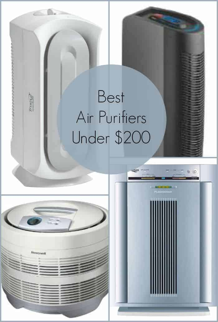 Air purifiers are great for ridding your home of musty odors and relieving allergies. Check out our picks for the best air purifiers for under $200.