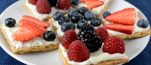 fruit cracker Nut-Free Back to School Snacks