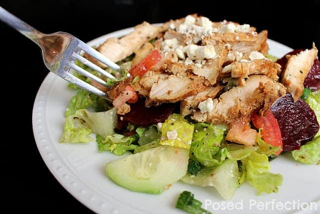 Lemon Chicken Greek Salad Cheap Healthy Meals For Large Families
