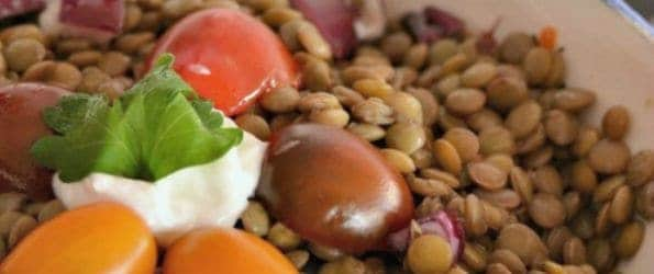 Breast Cancer Recipes: Lentil Salad
