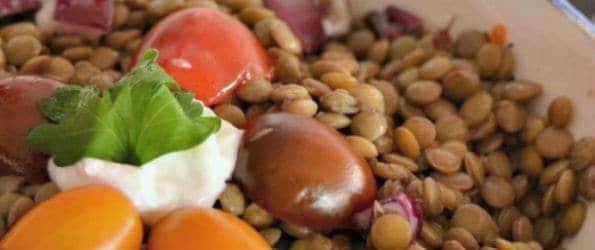 Breast Cancer Recipes: Lentil Salad