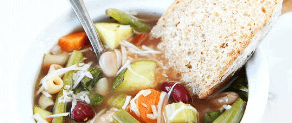 minestrone soup Breast Cancer Recipes: