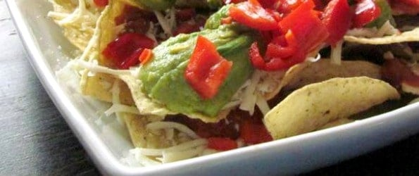 nachos and guacamole Labor Day Party Recipes