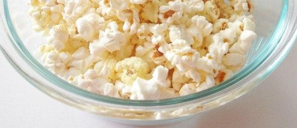 popcorn Nut-Free Back to School Snacks