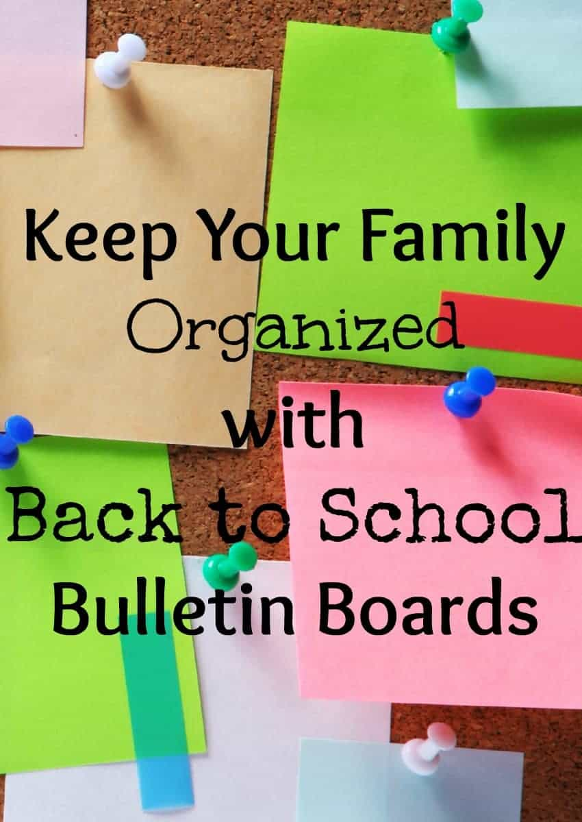 Keep your whole family organized in style with these spectacular back to school bulletin boards and command centers! Track appointments, activities and more.