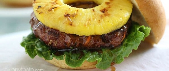 teriyaki burger Labor Day Party Recipes