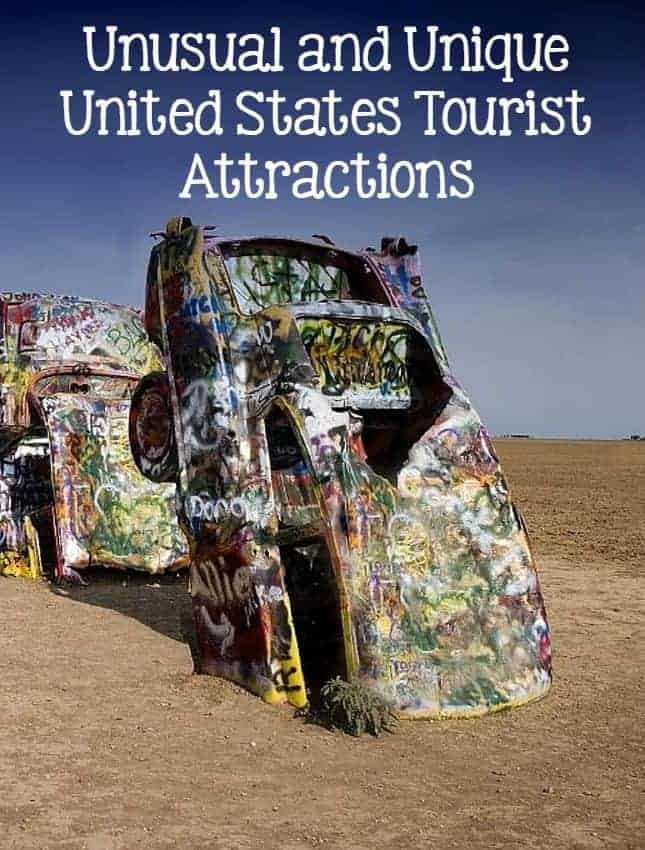 Bored of the same beach vacation? Check out these unusual and unique United States tourist attractions and do something different for your family vacation!