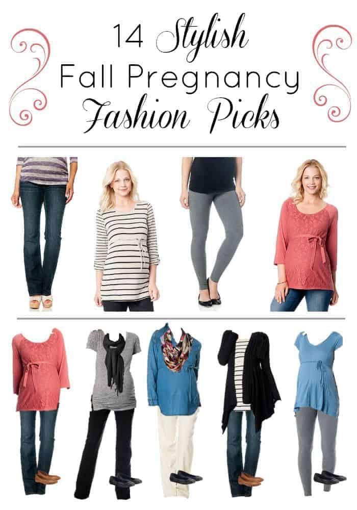 14 stylish Fall Pregnancy Fashion Picks