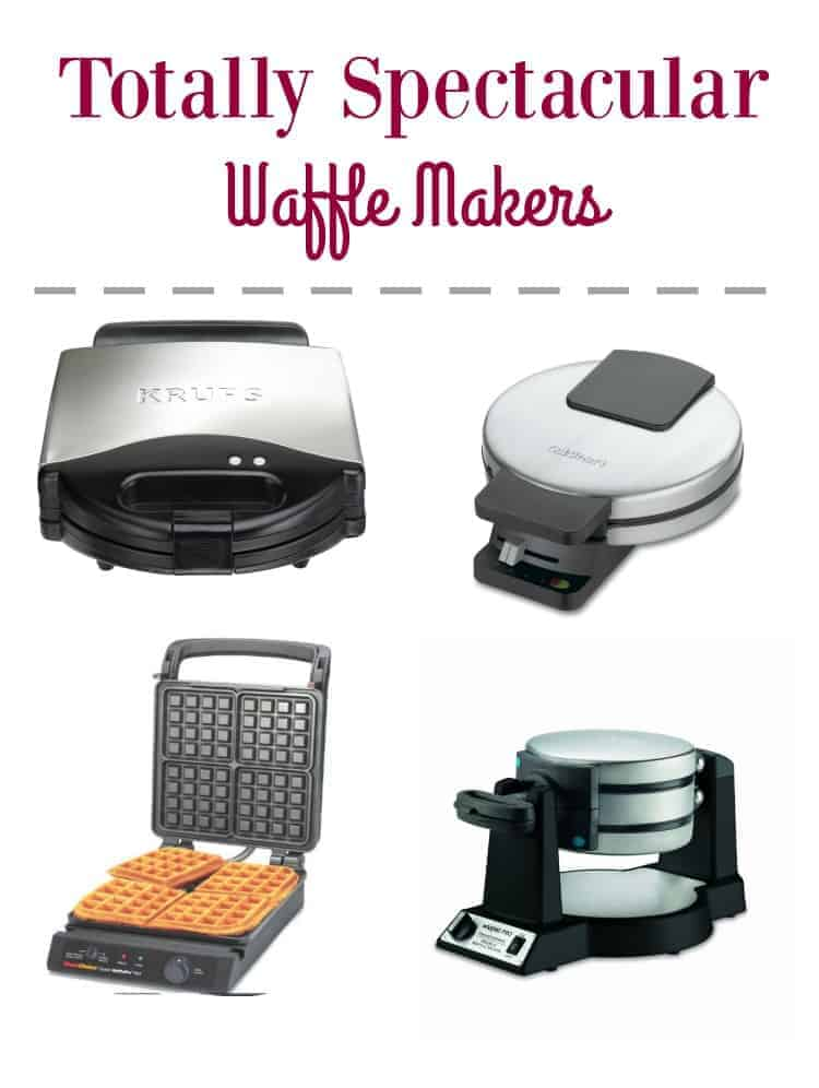 Did you know that you can make so much more than waffles in a waffle maker, as long as you have a good one? Check out our picks for the best waffle makers!