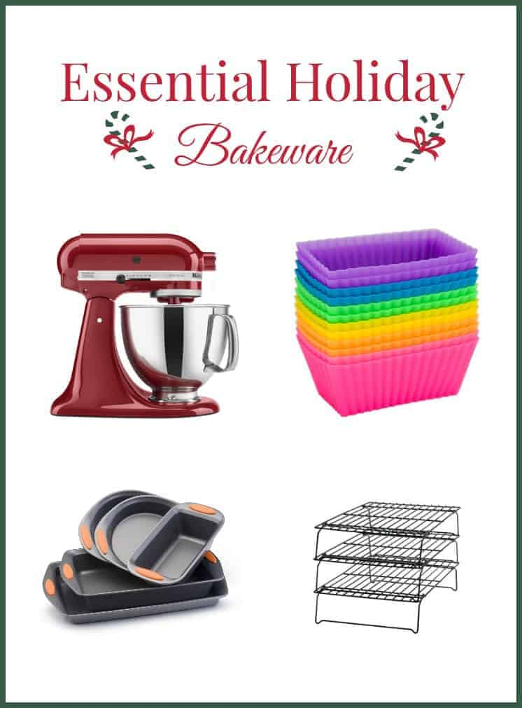 With this list of essential bakeware you need for the holidays, you can whip up just about anything for the season, from simple sugar cookies to incredibly rich and complicated 12-course dinners!