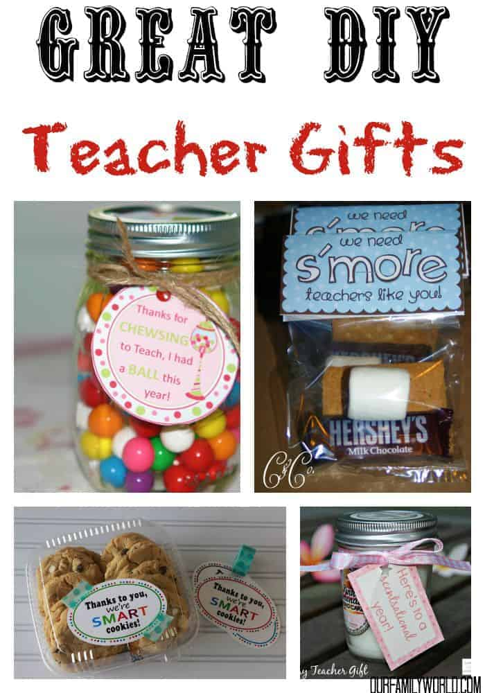 30 Ways To Make Your Home Pinterest Perfect: 7 Great DIY TEACHER GIFTS IDEAS