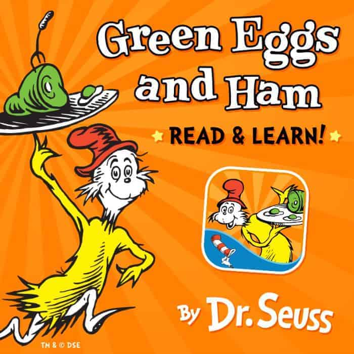Play & Explore With The *Brand New* Dr. Seuss Green Eggs and Ham Read & Learn App