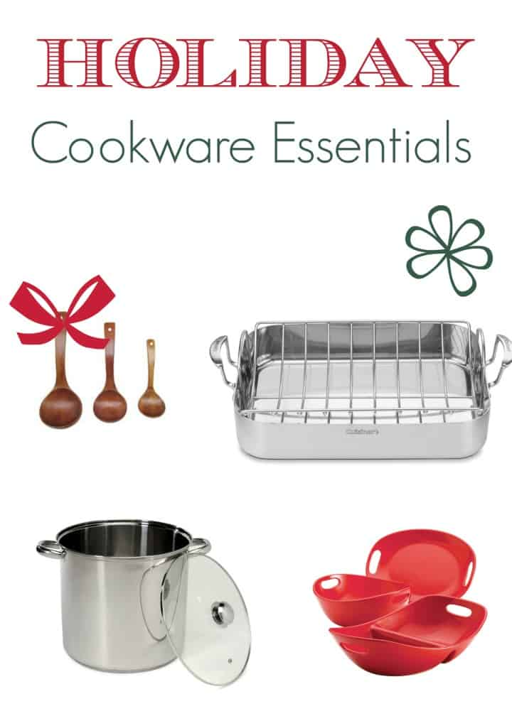 Don't let a burned turkey ruin your family's feast during those parties! Check out all the essential cookware you need for the best holiday meals ever!