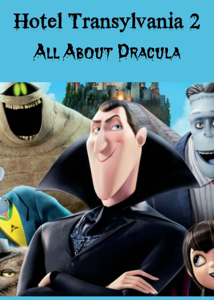 Find out everything you need to know about the illustrious Count Dracula in the Hotel Transylvania 2 family movie and impress your kids with your knowledge!