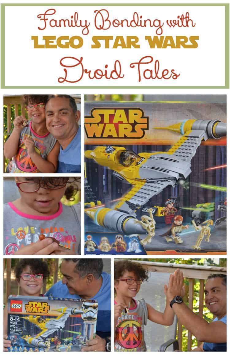 Ready for some fun family bonding time that bridges the gap between generations? Check out LEGO Star Wars Droid Tales, then put together your own fun kit!