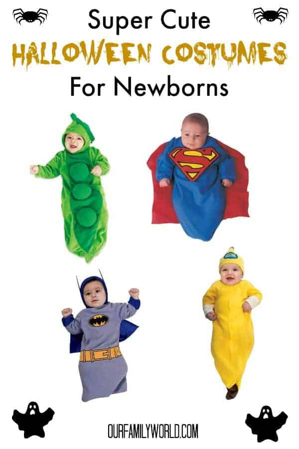 Got a brand new baby that you want to show off on October 31st? Check out these super cute ideas for Halloween costumes for newborns!