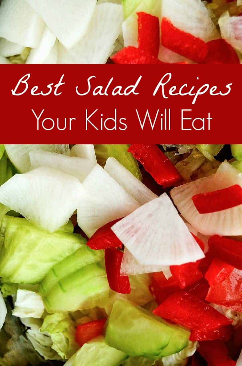 If you have a picky eater who views salads as a veggie-laden nightmare, we've come up with a few of the best salads your kids will eat! Give them a try!