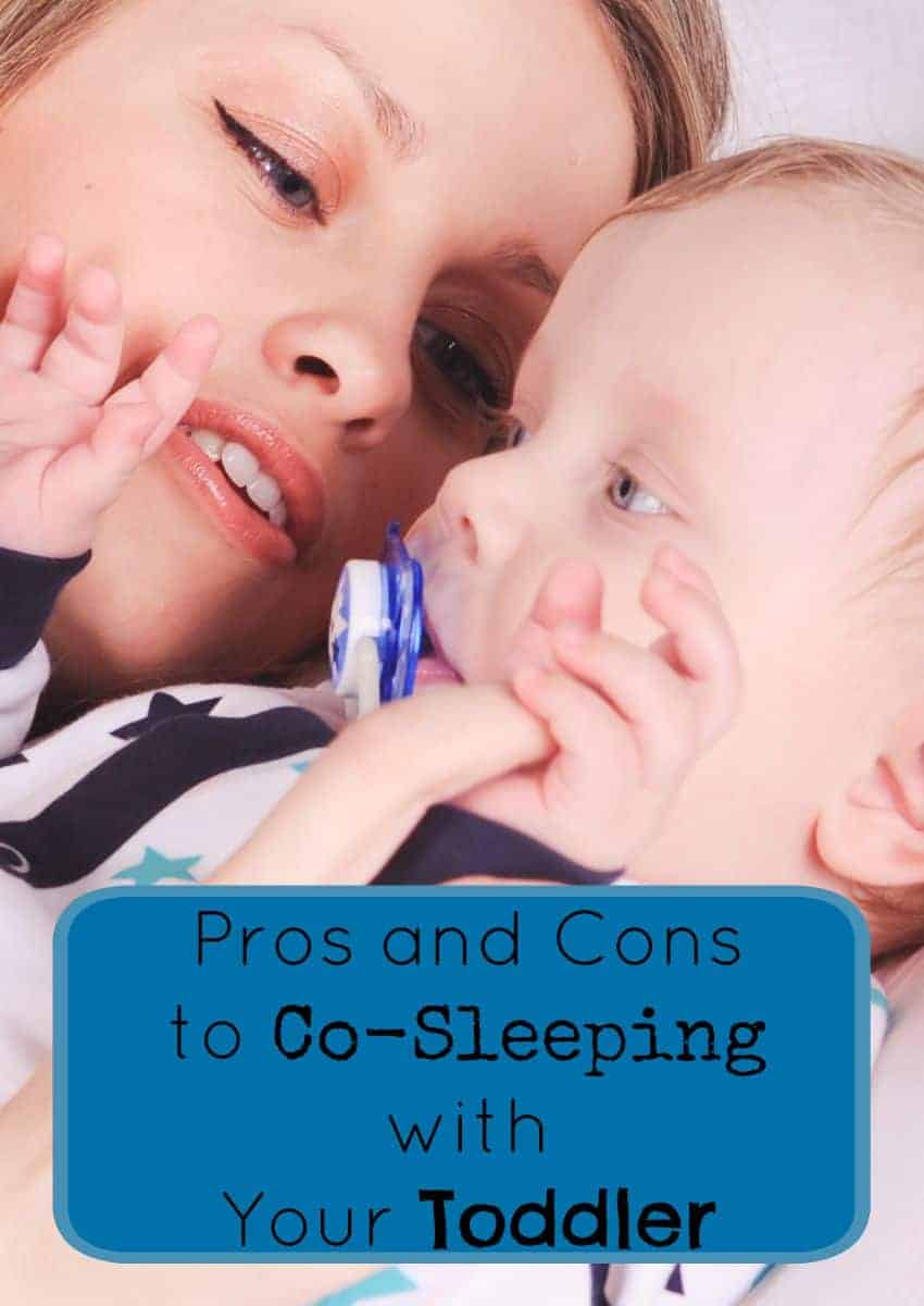 Like all things in parenting, there are definitely pros and cons to co-sleeping with your toddler. Check out our thoughts & tell us what you think!