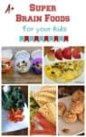 These super brain foods can help improve your child's concentration, memory and brain function, not to mention their overall health! Check them out!